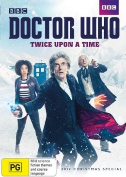 DVD Review – Doctor Who Twice Upon a Time-min