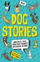 Many Dogs, One Bone,Dog Stories, Penguin Random House, NSW, 2016.A boy in a wheelchair and a little robot dog get pursued by vicious robot dobermans.