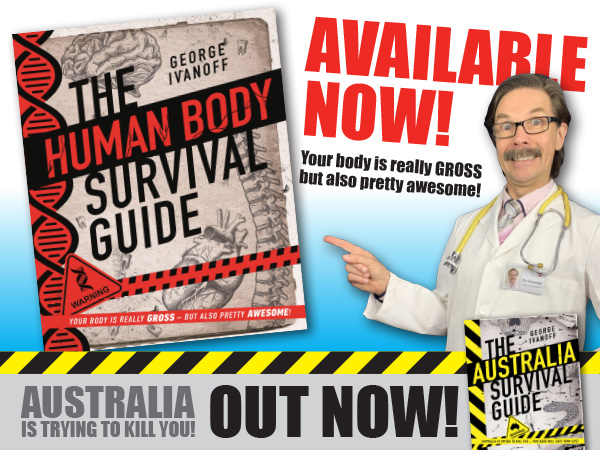George Ivanoff Author | Survival Guides